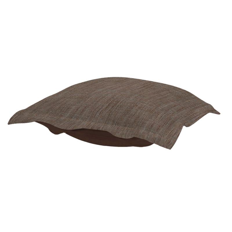 Howard Elliott 310-891P Coco 24 X 24 Puff Ottoman Cushion Slate Home