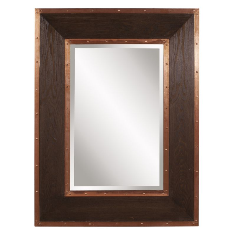 "Howard Elliott Zane Rectangular Mirror 42"" x 32"" Rectangular Mirror"