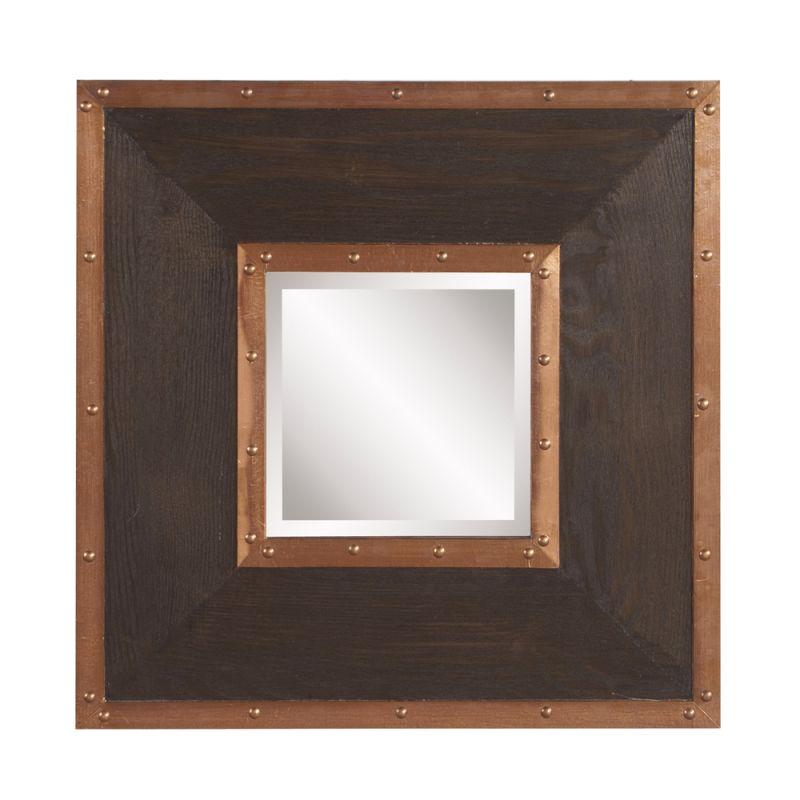 "Howard Elliott Zane Square Mirror 20"" x 20"" Square Mirror from the Sale $210.00 ITEM#: 2856478 MODEL# :37162 UPC#: 848635064482 :"