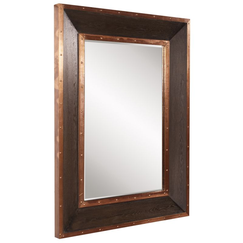 "Howard Elliott Blaze Rectangular Mirror 48"" x 36"" Rectangular Mirror"