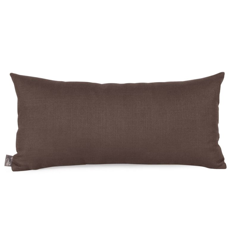 Howard Elliott 4-202 11 X 22 Rectangle Pillow Sterling Chocolate Home
