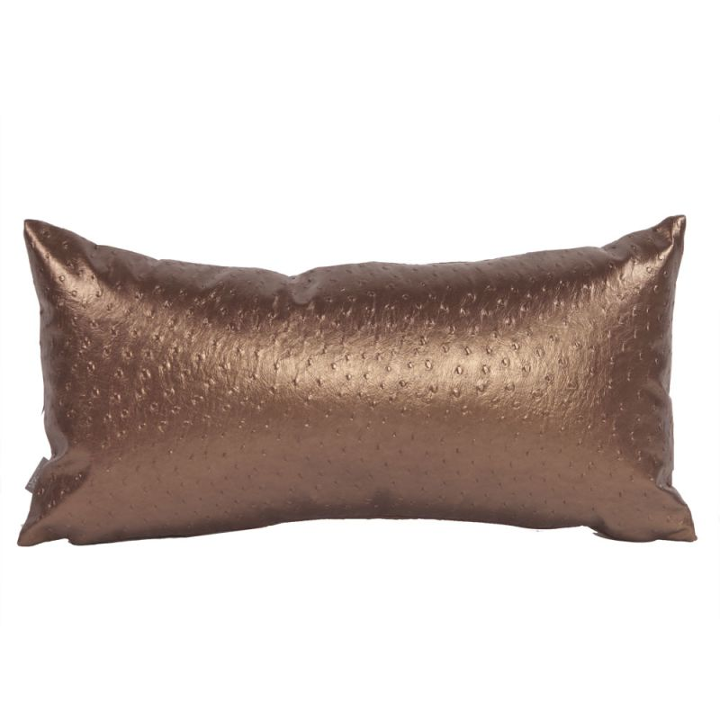 Howard Elliott 4-263 11 X 22 Rectangle Pillow Ostrich Copper Home