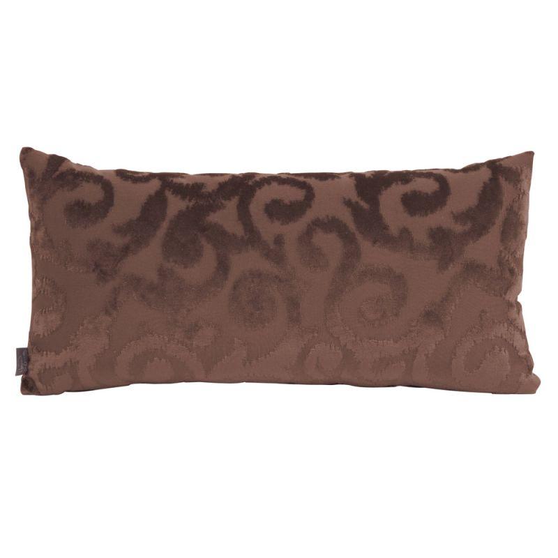 Howard Elliott 4-281 11 X 22 Rectangle Pillow Blur Chocolate Home