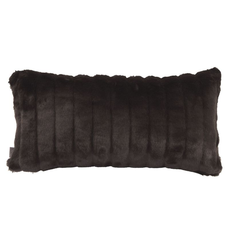 Howard Elliott 4-286 11 X 22 Rectangle Pillow Mink Black Home Decor