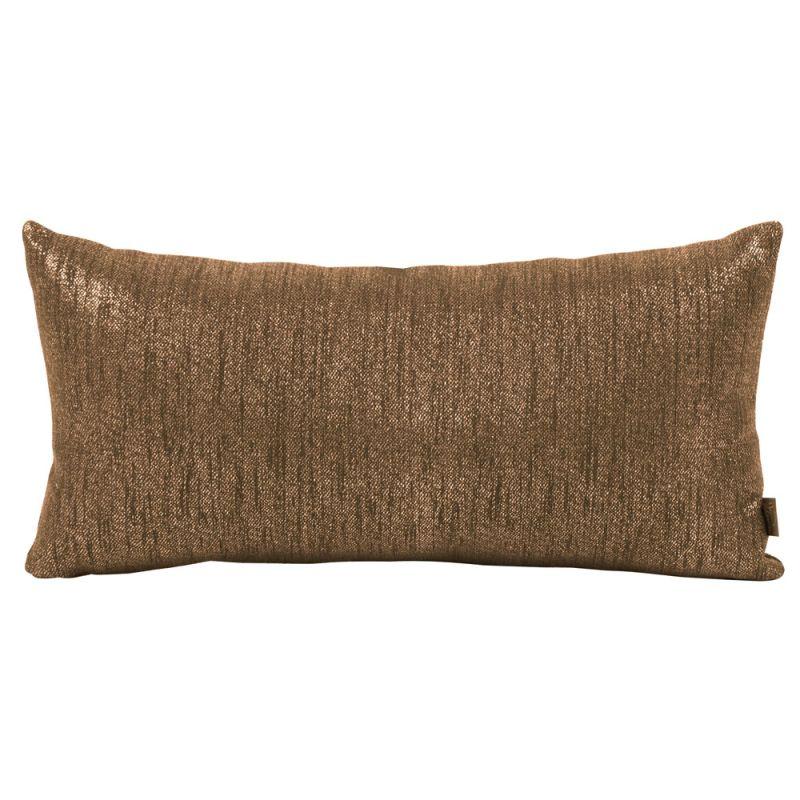 Howard Elliott 4-293 11 X 22 Rectangle Pillow Glam Chocolate Home