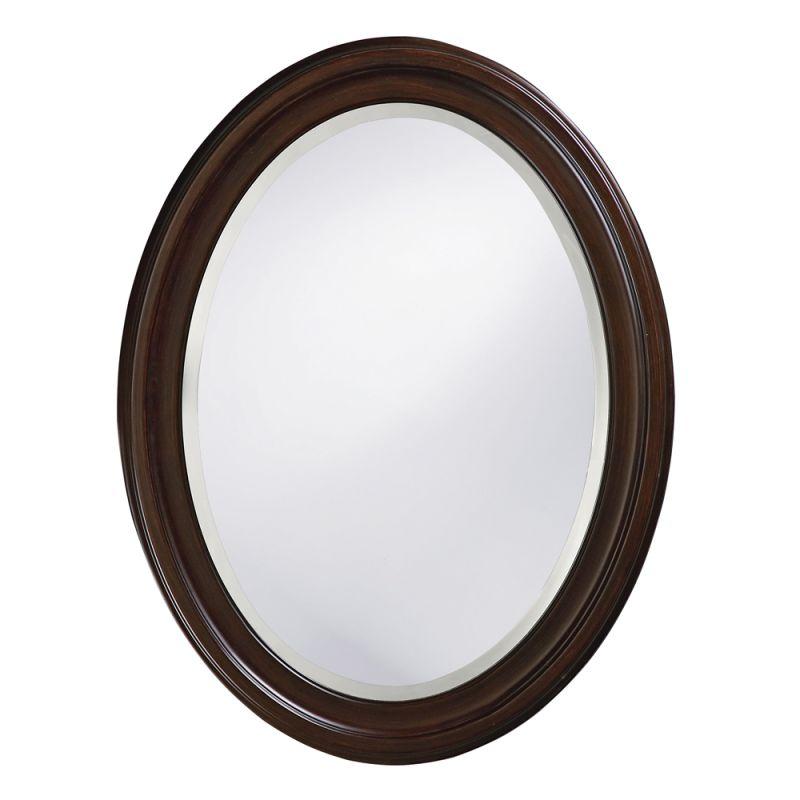 """Howard Elliott 40110 George 33"""" x 25"""" Chocolate Brown Mirror Chocolate"""