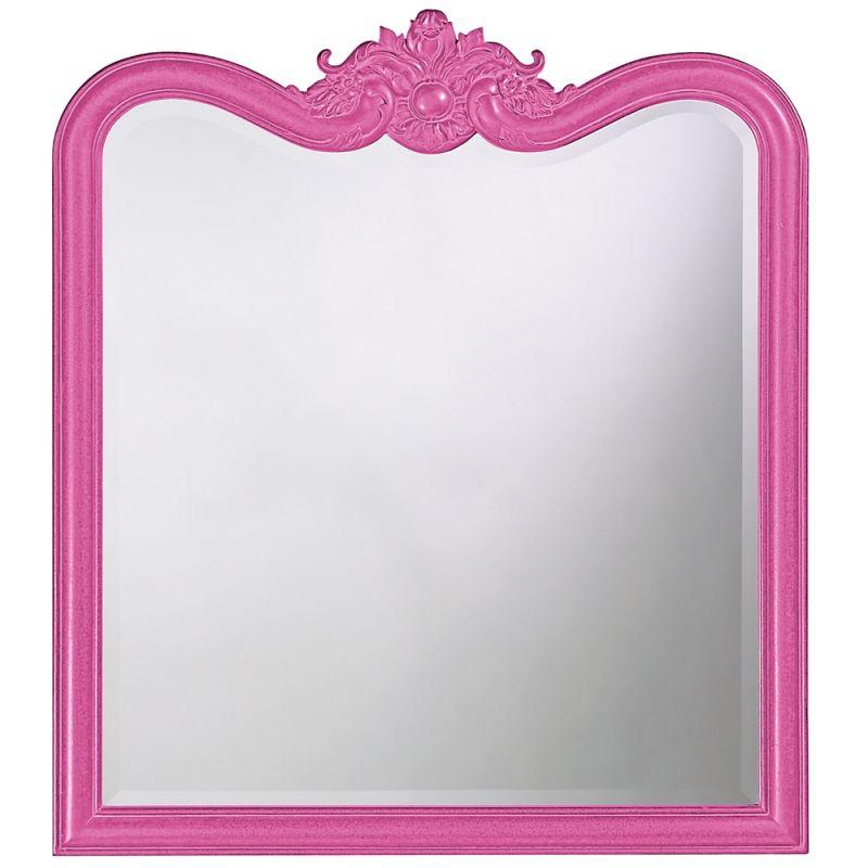 """Howard Elliott 4079HP Eliza 38"""" x 34"""" Glossy Hot Pink Mirror Glossy"""