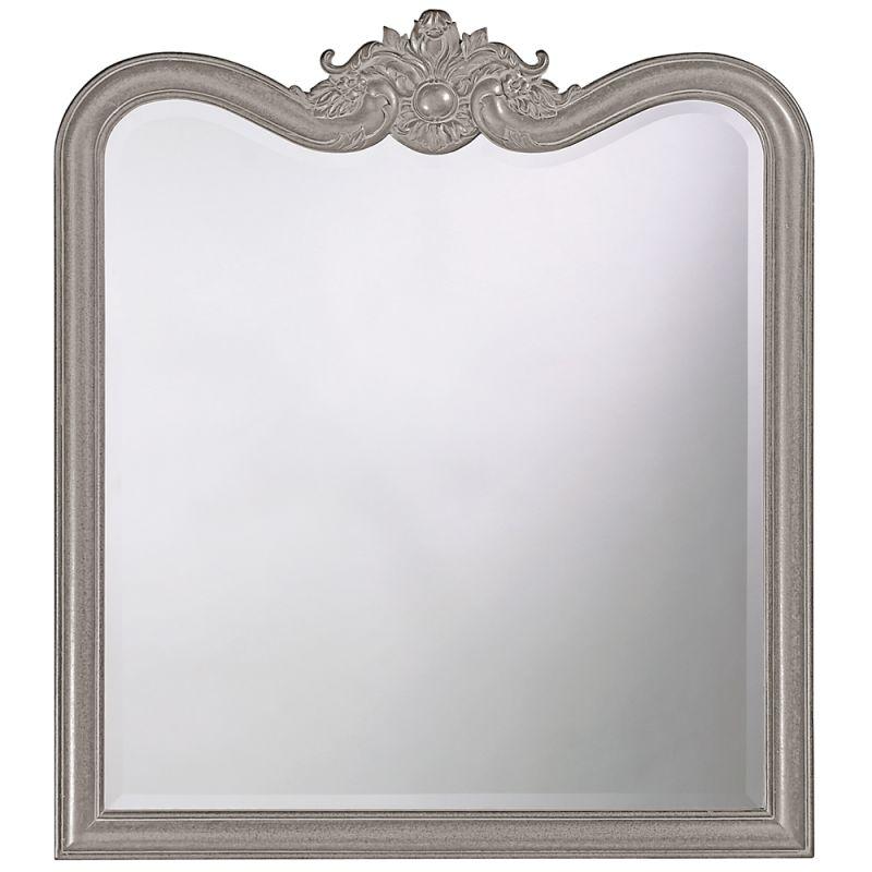 "Howard Elliott 4079N Eliza 38"" x 34"" Glossy Nickel Mirror Glossy"