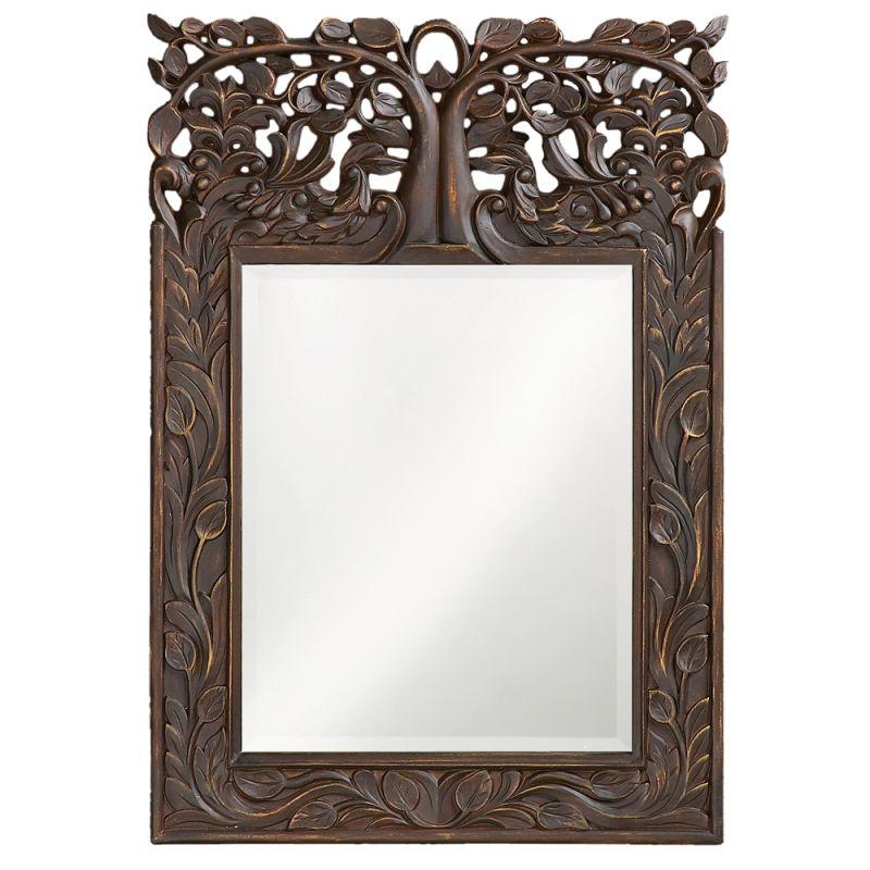"""Howard Elliott 4084 Oakvale 25"""" x 17"""" Mirror Bronze Home Decor Sale $149.90 ITEM#: 2704584 MODEL# :4084 UPC#: 848635000558 :"""
