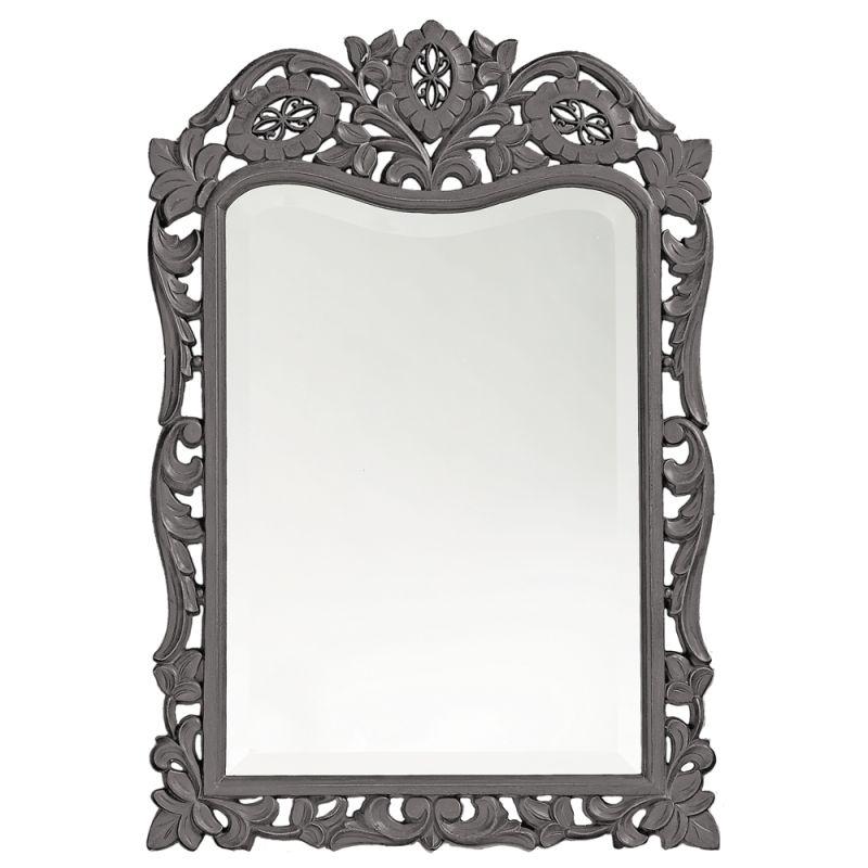 "Howard Elliott 4085CH St. Agustine 29"" x 20"" Charcoal Gray Mirror Sale $209.90 ITEM#: 2700130 MODEL# :4085CH UPC#: 848635018669 :"