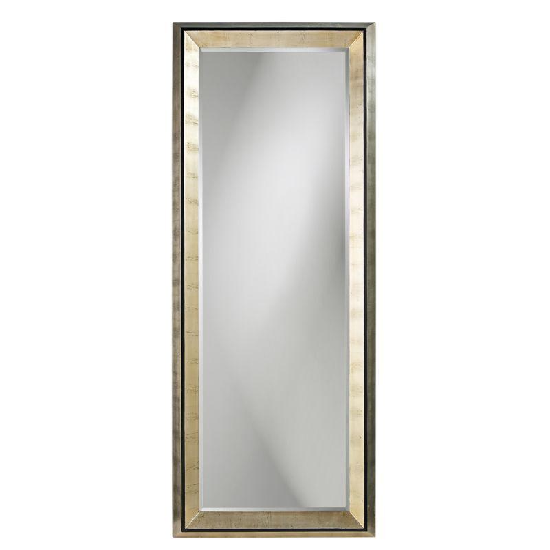 """Howard Elliott 43012 Detroit 80"""" x 32"""" Oversized Leaner Mirror Gold"""