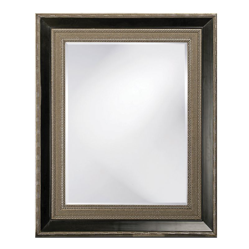 "Howard Elliott 43049SM Arnaud 53"" x 43"" Small Rectangle Mirror Bronze"