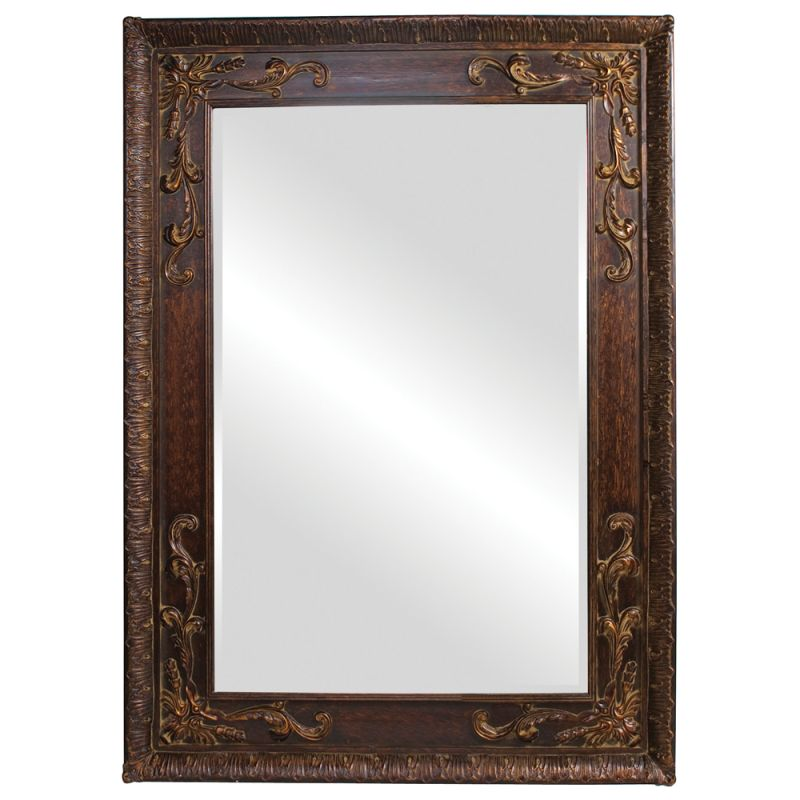"Howard Elliott 43100 Lila 84"" x 60"" Oversized Antique Copper Mirror"