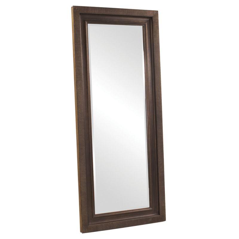 """Howard Elliott 43101 Dana 83"""" x 35"""" Oversized Bronze Leaner Mirror"""