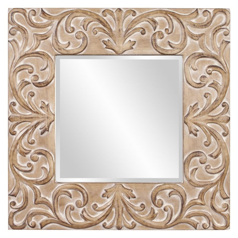 "Howard Elliott Larson Square Mirror 39"" x 39"" Square Mirror from the"