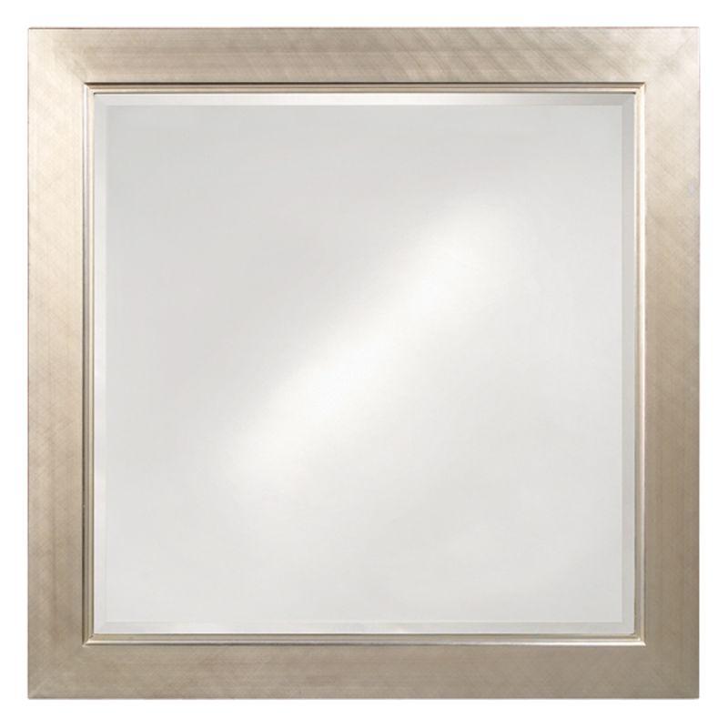 "Howard Elliott 5036 Millennium 40"" x 40"" Silver Mirror - Small Silver"
