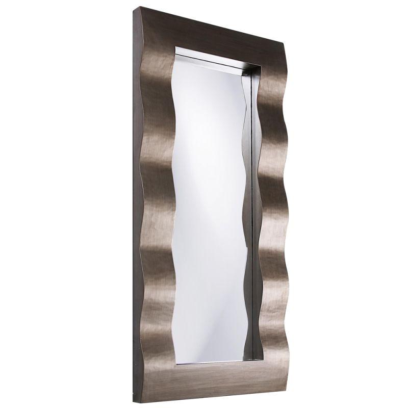 """Howard Elliott 51158 Meridien 44"""" x 20"""" Bright Silver Mirror Bright"""