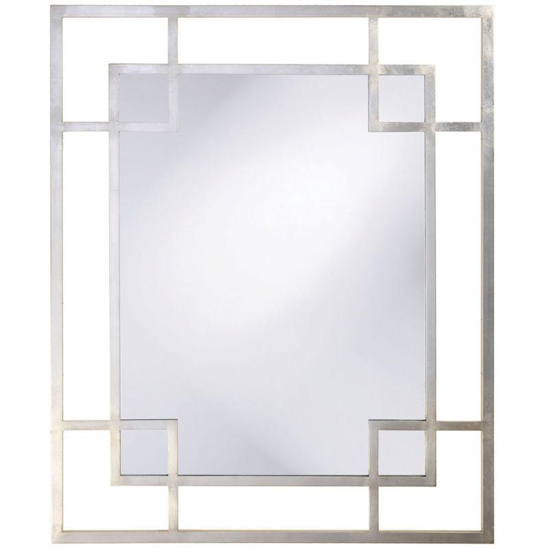 "Howard Elliott 51219 Lois 53"" x 43"" Platinum Mirror Gold Home Decor"