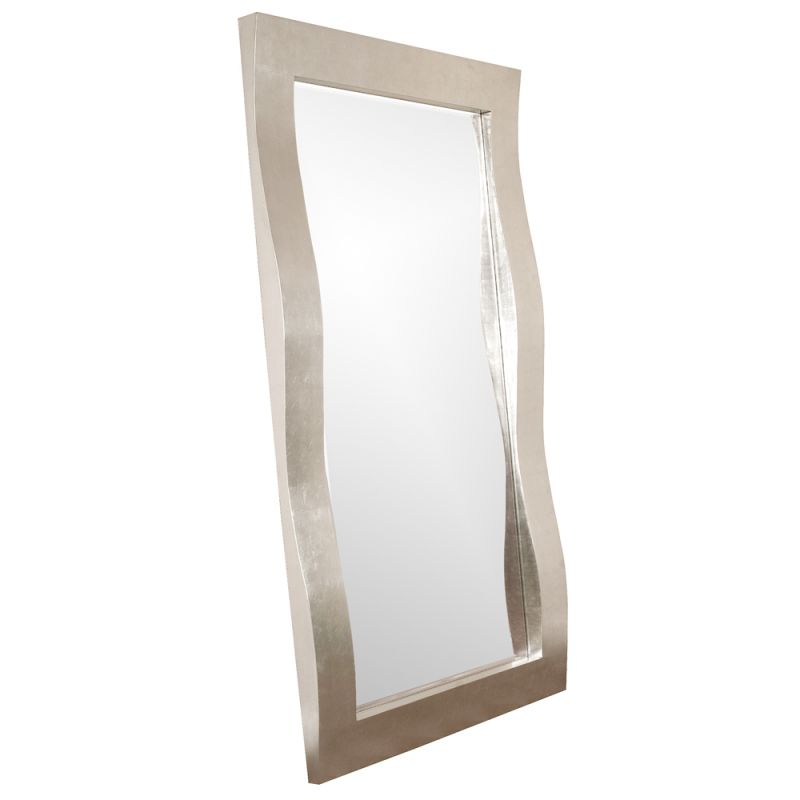 "Howard Elliott 51240 Montrose 84"" x 48"" Oversized Leaner Mirror Nickel"