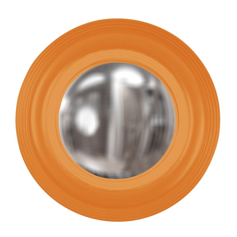 "Howard Elliott 51276O Soho 14"" x 14"" Orange Mirror Orange Home Decor Sale $136.90 ITEM#: 2700277 MODEL# :51276O UPC#: 848635027340 :"