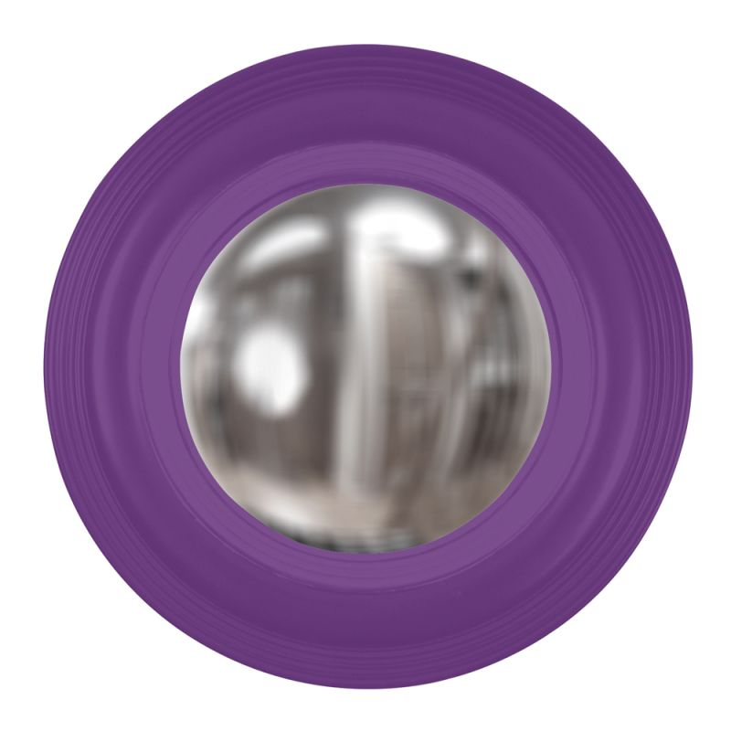 "Howard Elliott 51276RP Soho 14"" x 14"" Royal Purple Mirror Royal Purple Sale $136.90 ITEM#: 2700280 MODEL# :51276RP UPC#: 848635027388 :"