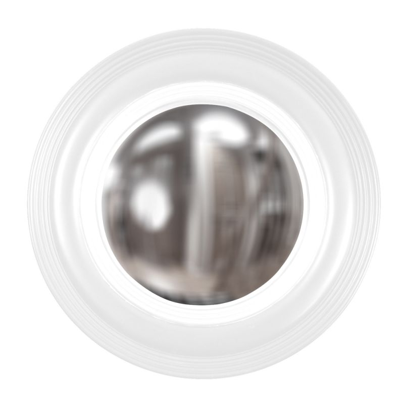 "Howard Elliott 51276W Soho 14"" x 14"" White Mirror White Home Decor Sale $136.90 ITEM#: 2700281 MODEL# :51276W UPC#: 848635027395 :"