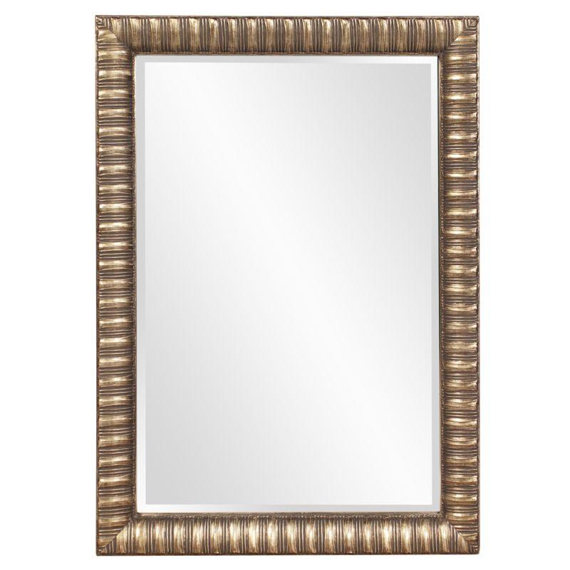 "Howard Elliott 5179 Moore 41"" x 29"" Silver Mirror Silver Home Decor"