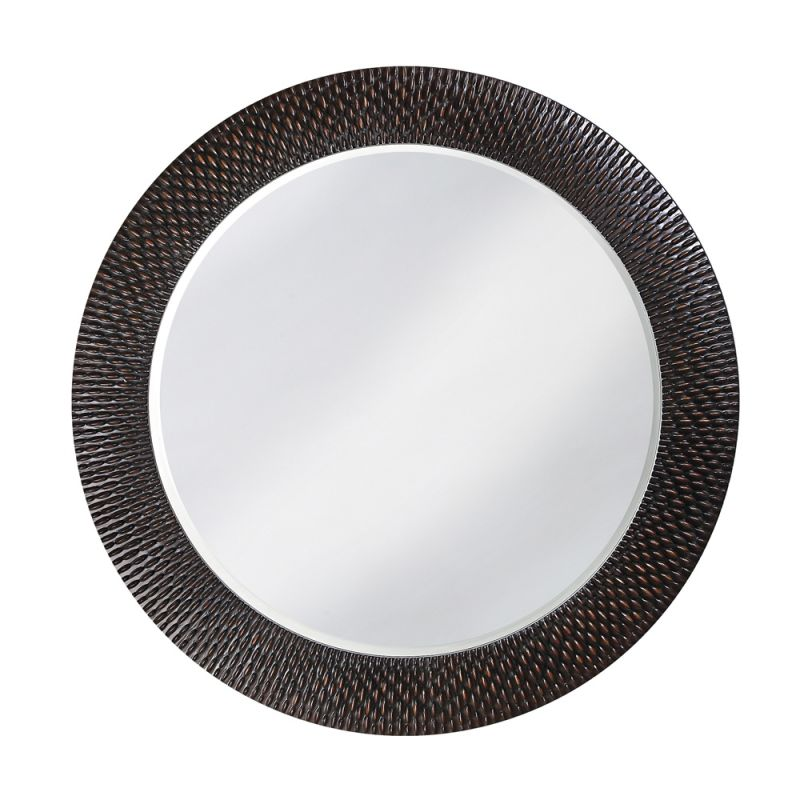 "Howard Elliott Bergman Round Mirror 32"" Diameter Circular Mirror from"