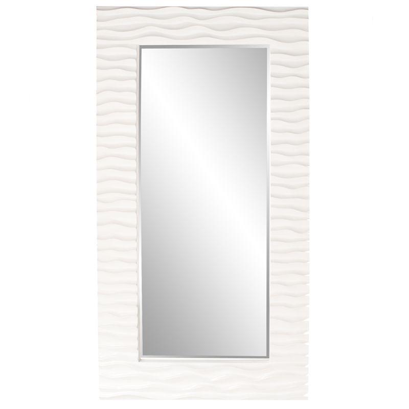 "Howard Elliott 56001 Broadway 58"" x 30"" Round Mirror Glossy Nickel"