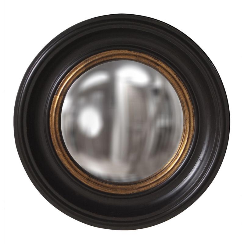 "Howard Elliott 56010 Albert 21"" x 21"" Round Mirror Glossy Metallic"