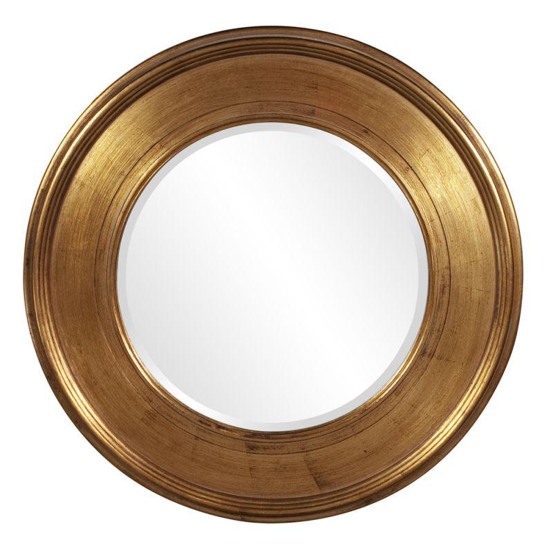 "Howard Elliott 56055 Valor 37"" x 37"" Gold Mirror Gold Home Decor"