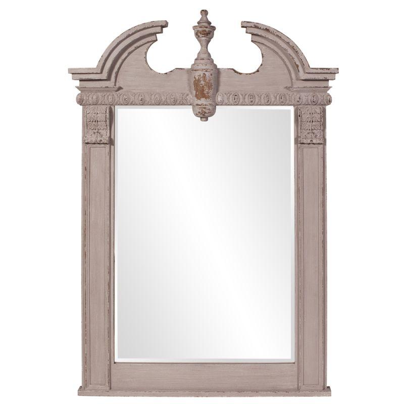"Howard Elliott 56060 Thornbury 71"" x 46"" gray Mirror Gray Home Decor"