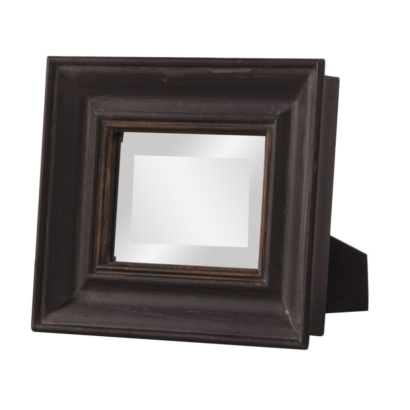 "Howard Elliott Agnes Rustic Table Mirror 12"" x 10"" Rectangular Mirror"