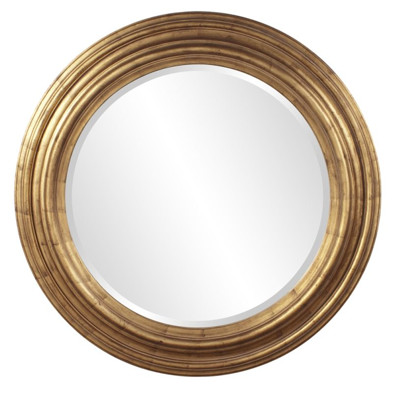 "Howard Elliott 56119 Ryder 43"" x 43"" Country Gold Mirror Gold Home"