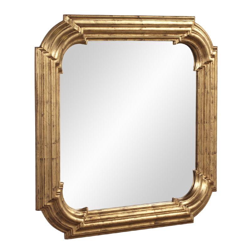 "Howard Elliott 56129 Hannah 30"" x 30"" Gold Mirror Gold Home Decor"