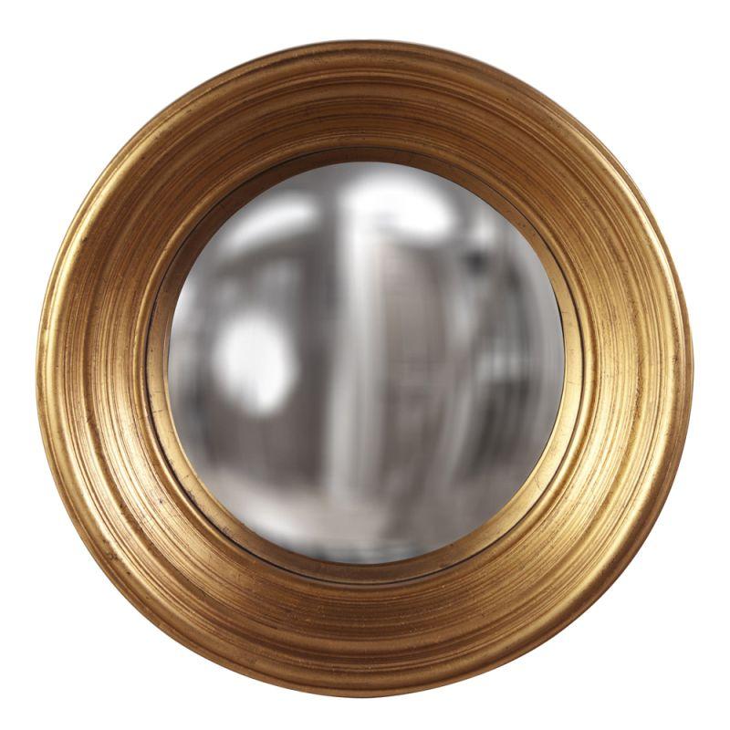 """Howard Elliott 56133 Silas 20.5"""" x 20.5"""" Gold Mirror - Medium Gold"""
