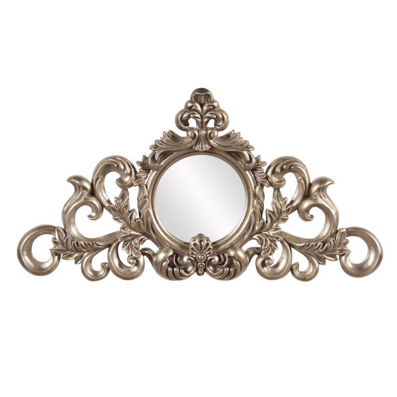 "Howard Elliott Irene Leaf Mirror 11.5"" x 21.5"" Arched Mirror from the"