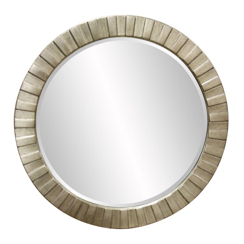 """Howard Elliott 6002 Serenity 34"""" x 34"""" Silver Leaf Mirror Silver Leaf"""