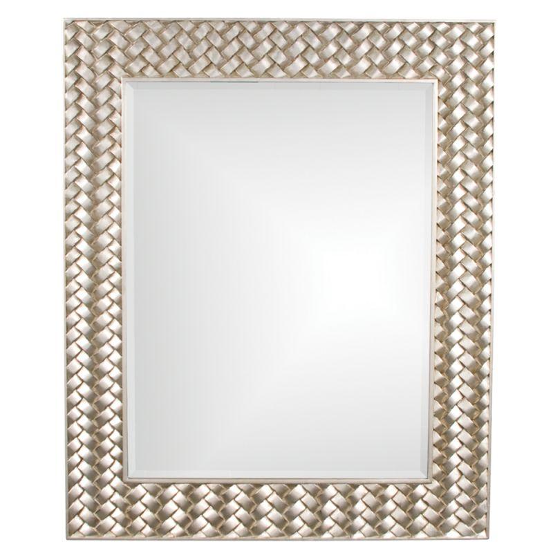 "Howard Elliott 60151 Cabrera 44"" x 36"" Weave Mirror Weave Home Decor"
