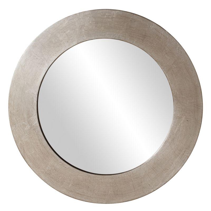 "Howard Elliott 60200 Sonic 20"" x 20"" Silver Round Mirror Silver Home"