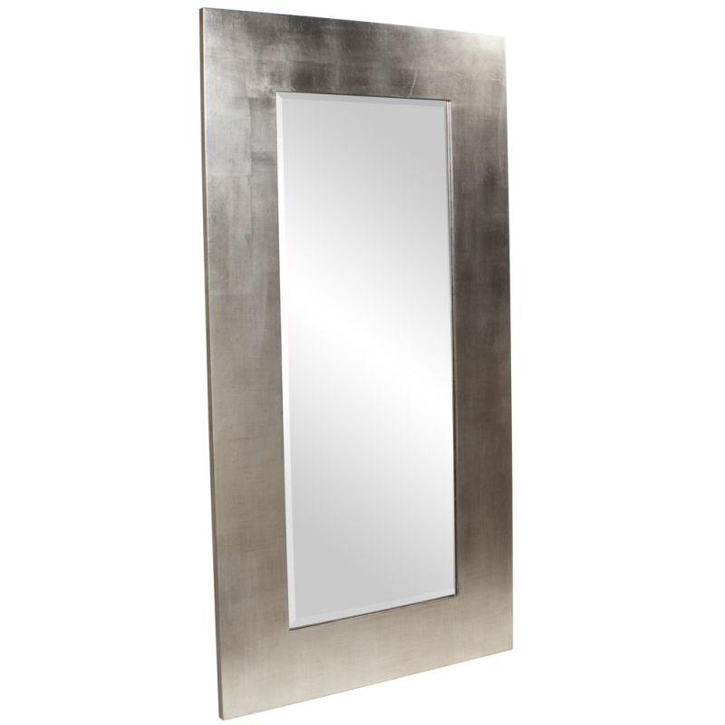 "Howard Elliott 60202 Sonic 72"" x 38"" Silver Mirror Silver Home Decor"
