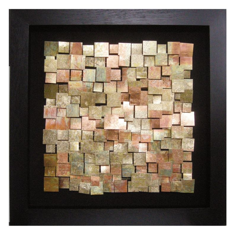Howard Elliott 64036 Wall Art Acid Treated Copper Copper and Java Home