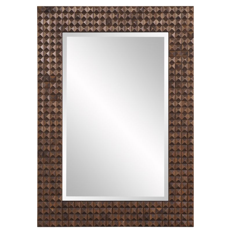 "Howard Elliott 68055 Bombay 41"" x 29.5"" Bronze Mirror Gold Home Decor"