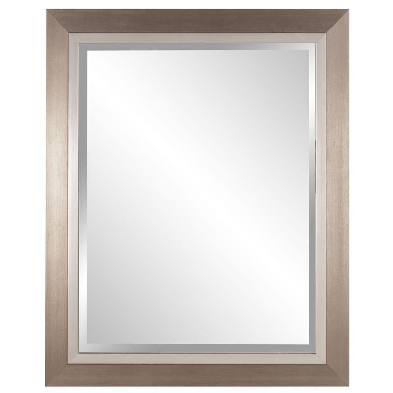 "Howard Elliott 69043 Chicago 34"" x 28"" Brushed Silver Mirror Brushed"