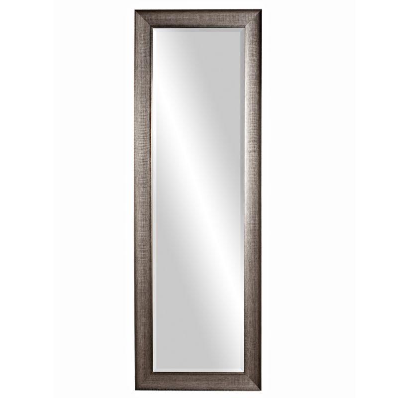 """Howard Elliott 69048 Maverick 72"""" x 24"""" Oversized Leaner Mirror Silver"""