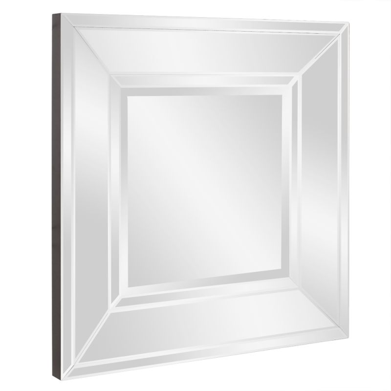 """Howard Elliott Caruso Square Mirror 36"""" x 36"""" Square Mirror from the"""