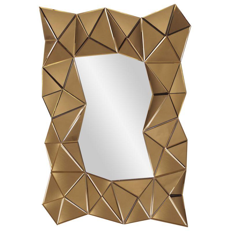 "Howard Elliott 79012 Venus 47"" x 32"" Modern Mirror Copper Home Decor"