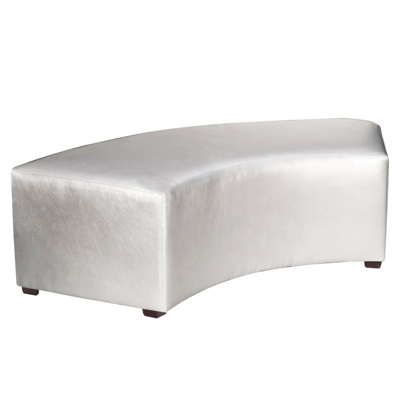 "Howard Elliott Shimmer Universal Radius Bench 60"" Wide Polyurethane"
