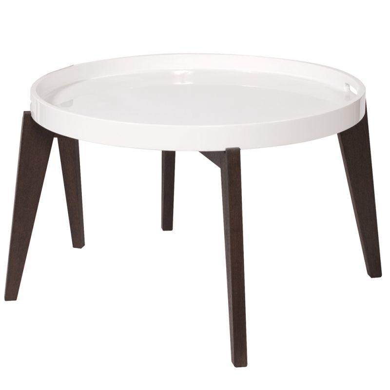 "Howard Elliott Tray Coffee Table 28"" Wide Tray Coffee Table Wenge"