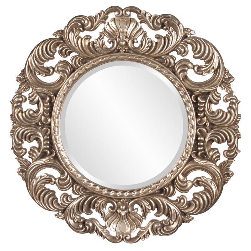 "Howard Elliott Xander Round Mirror 35"" Diameter Circular Mirror from"